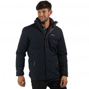Thornridge Waterproof Insulated Jacket Navy