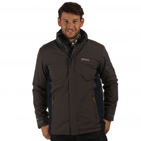 Thornridge Waterproof Insulated Jacket Iron Navy