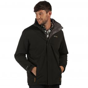 Thornridge Waterproof Insulated Jacket Black Iron