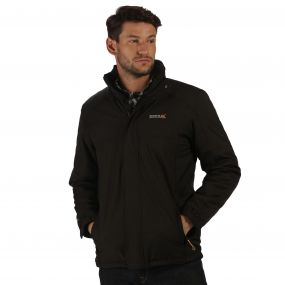 Hackber Waterproof Insulated Jacket Black