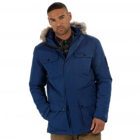 Saltoro Waterproof Parka Jacket Prussian Blue
