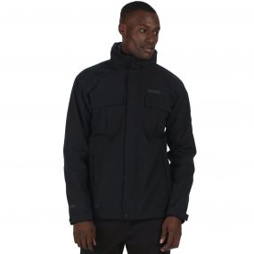 Northton Waterproof 3-in-1 Stretch Jacket Black Iron Marl