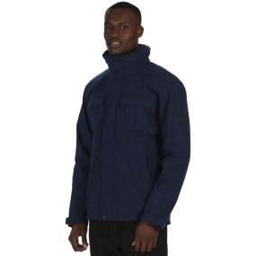 Northton Waterproof 3-in-1 Stretch Jacket Navy Marl