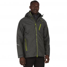 Glyder III Waterproof 3-in-1 Stretch Jacket Seal Grey