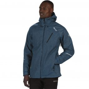 Glyder III Waterproof 3-in-1 Stretch Jacket Majolica Blue