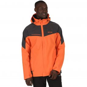 Sacramento III Waterproof 3-in-1 Stretch Jacket Magma