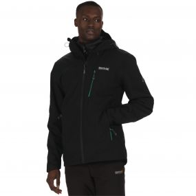 Wentwood II Waterproof 3-in-1 Stretch Jacket Black