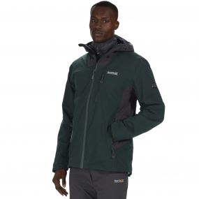 Wentwood II Waterproof 3-in-1 Stretch Jacket Darkest Spruce