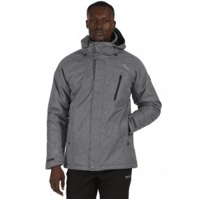 Men's Highside II Waterproof Insulated Jacket Seal Grey