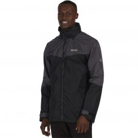 Backmoor II Waterproof 3-in-1 Jacket Black Seal Grey