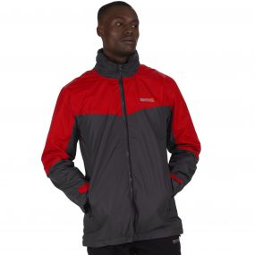 Backmoor II Waterproof 3-in-1 Jacket Seal Grey Pepper Red