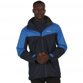 Backmoor II Waterproof 3-in-1 Jacket Navy Oxford Blue