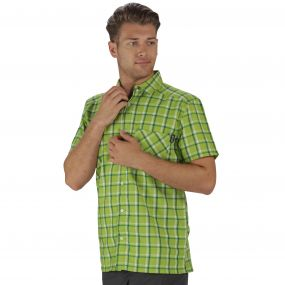 Mindano II Shirt Lime Green