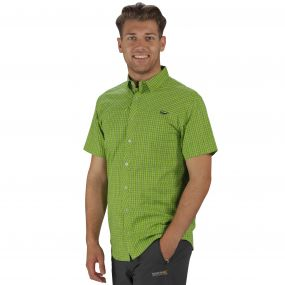 Honshu II Shirt Lime Green