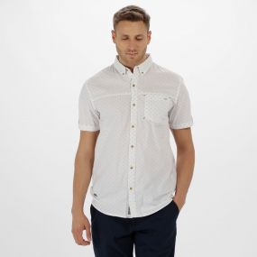 Damaro Coolweave Cotton Shirt White
