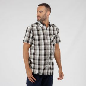 Kalambo III Checked Shirt Ash
