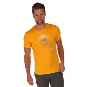 Fingal T-Shirt Gold Heat