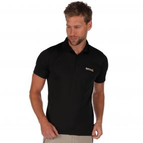 Maverik III Polo Shirt Black