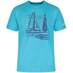 Cline T-Shirt Maui Blue
