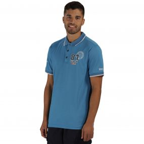 Tremont Polo Shirt Coastal Blue