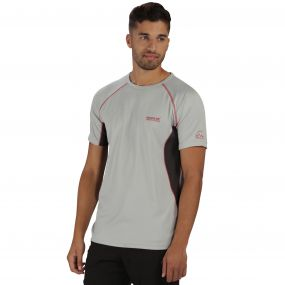 Virda T-Shirt Light Steel Grey