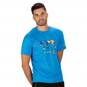Fingal II T-Shirt Hydro Blue