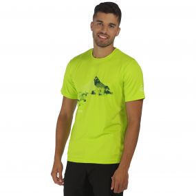 Fingal II T-Shirt Lime Green