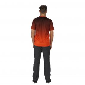 Hyperdimension T-Shirt Magma Orange
