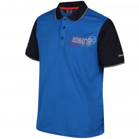 Tremont II Polo Shirt Oxford Blue Naxy