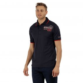 Tremont II Polo Shirt Navy
