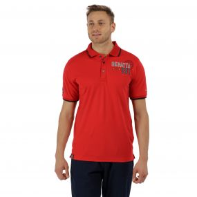 Tremont II Polo Shirt Pepper