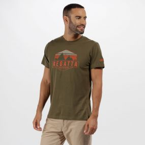 Cline II Graphic Print T-Shirt Ivy Green
