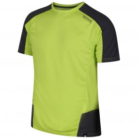 Hyper-Reflective Quick Dry T-Shirt Lime Green