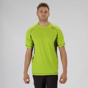 Volito III Ultra Lightweight T-Shirt Lime Green Racing Green