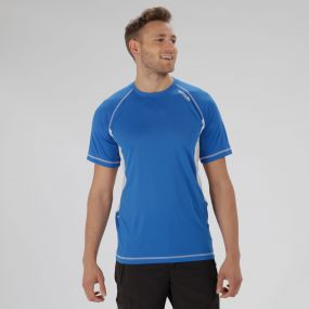 Volito III Ultra Lightweight T-Shirt Oxford Blue White