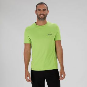 Hyper-Cool Quick Drying T-Shirt Fluro Yellow