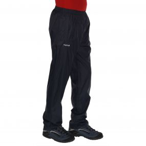 Men's Pack It Breathable Waterproof Overtrousers Navy