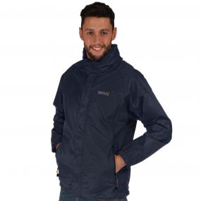 Magnitude IV Waterproof Shell Jacket with Concealed Hood Iron