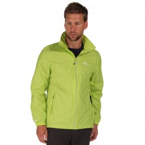Lyle III Packaway Jacket Lime Zest