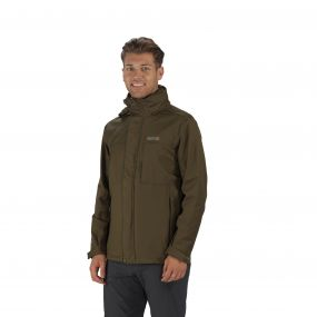 Northfield III Jacket Olive Night