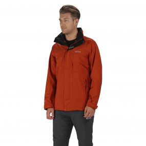 Northfield III Jacket Burnt Orange