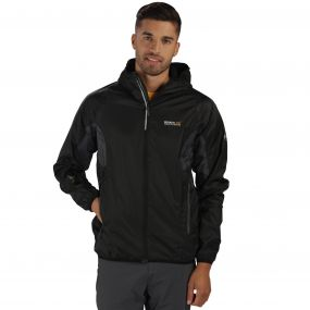Levin Jacket Black Grey