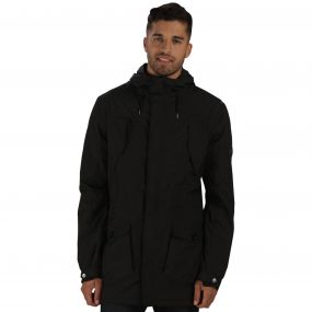 Mansiri Waterproof Jacket Black