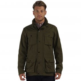 Elwin Jacket Olive Night