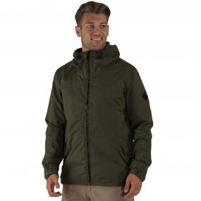 Harlan Waterproof Jacket Olive Night
