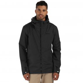 Harlan Waterproof Jacket Black