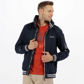 Marvyn Waterproof Jacket Navy