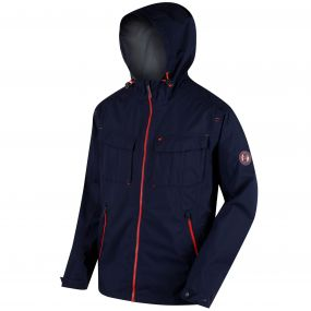 Bardolf Stretch Waterproof Jacket Navy