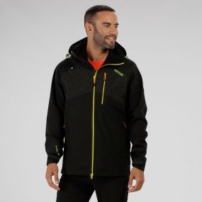 Oklahoma III Reflective Waterproof Jacket Black