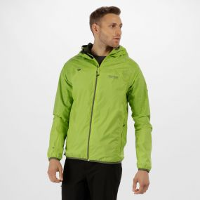 Levin II Reflective Waterproof Jacket Lime Green